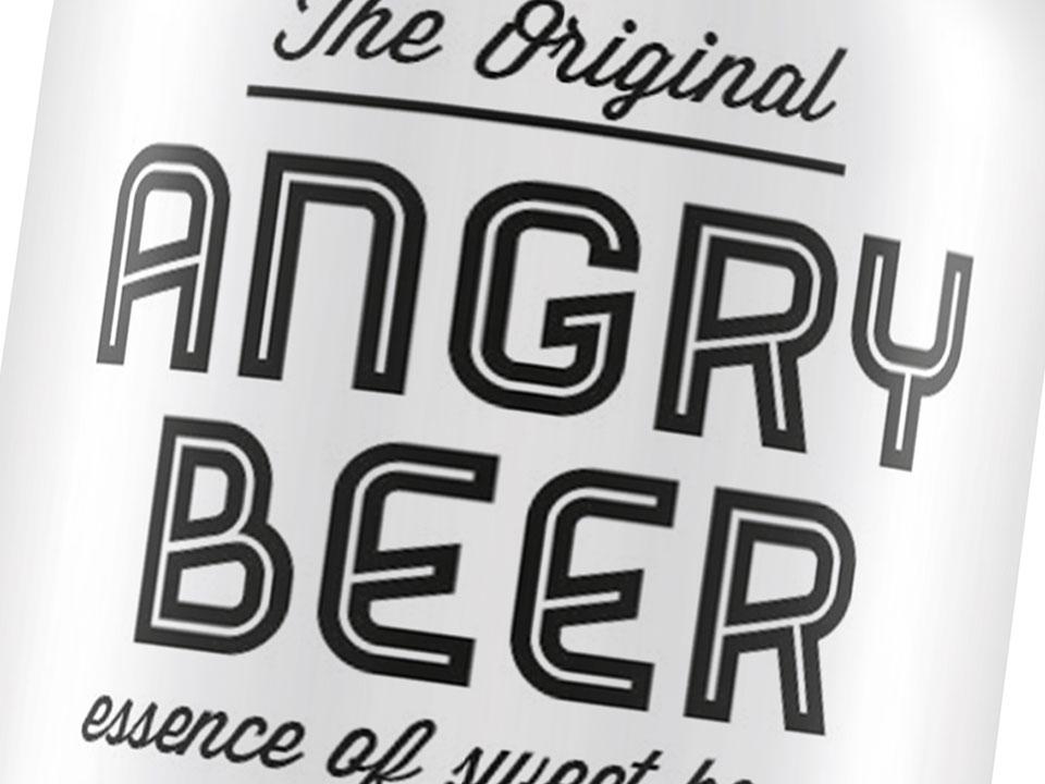 Angry Beer naming, logo e grafica packaging