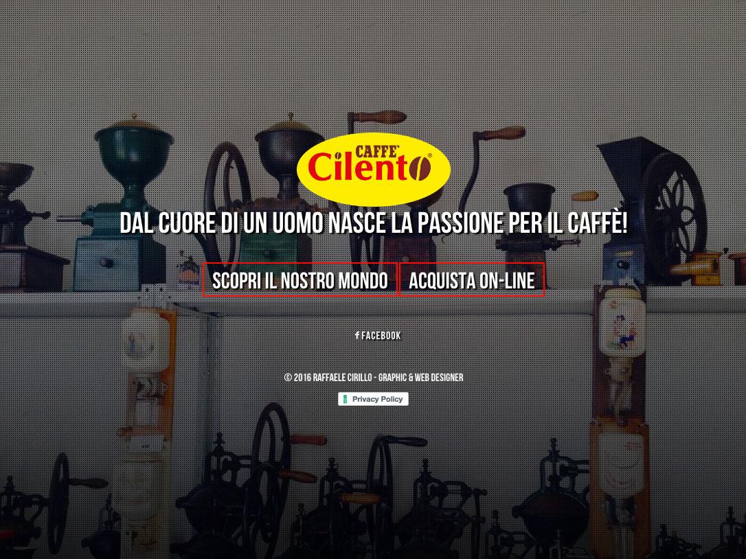 Sito Web Caffè Cilento