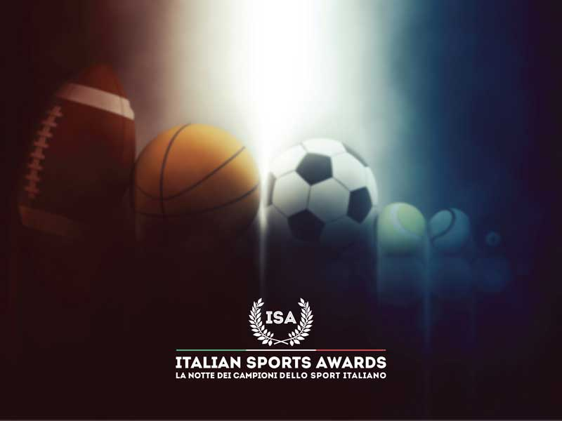 ISA - Italian Sports Awards naming e logo