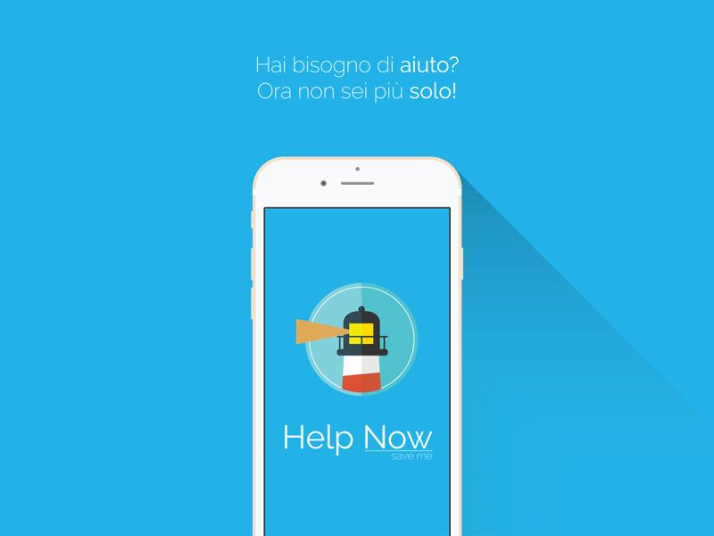 App Help Now - Save me UI e UX