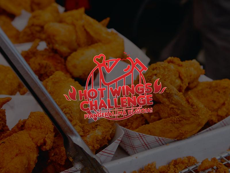 Hot Wings Challenge naming e logo