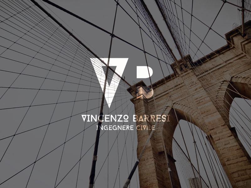Vincenzo Barresi - Ingegnere Civile naming e logo
