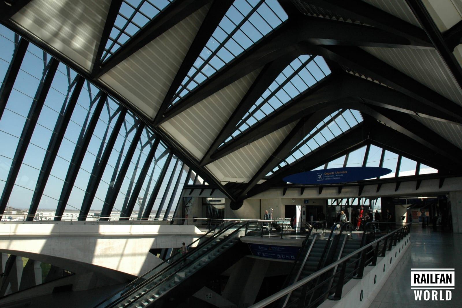 Lyon-Saint-Exupéry TGV