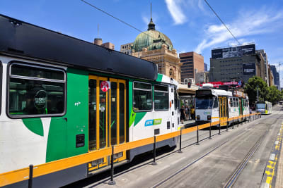 Melbourne B-class tram