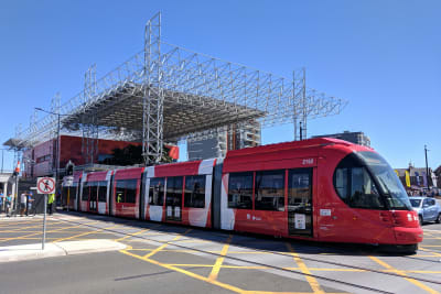 Newcastle Light Rail Opening