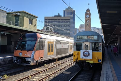 Sydney Trains S set farewell