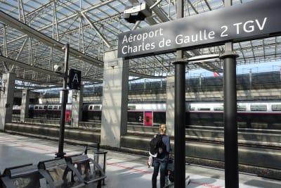Aéroport Charles-de-Gaulle 2 TGV