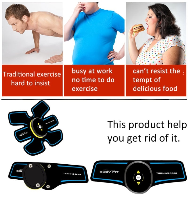 electric muscle stimulator,ems muscle trainer