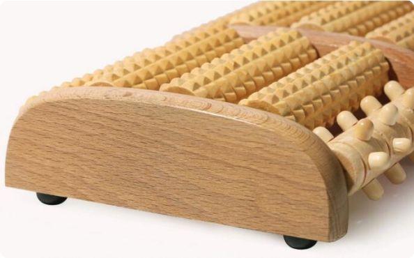 wooden massage roller,wooden foot massager