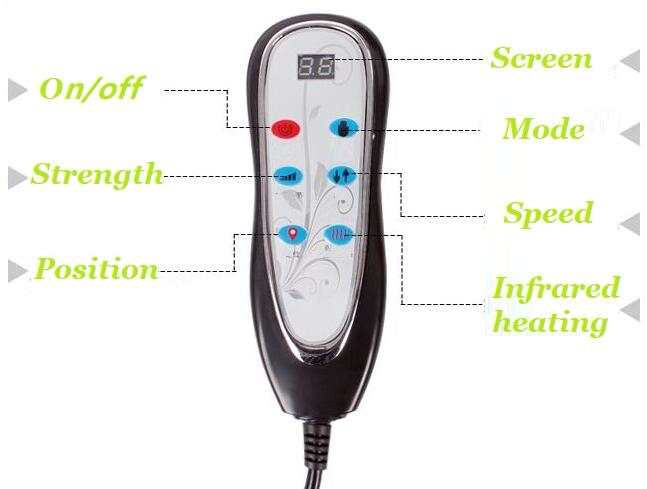 electric heating pad,massaging heating pad