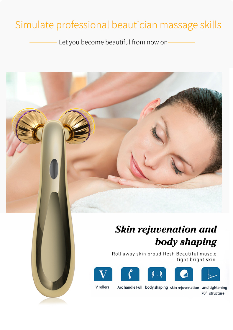 face massage tool,microcurrent face lifting device
