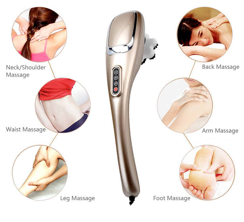 electric back massager,handheld back massager
