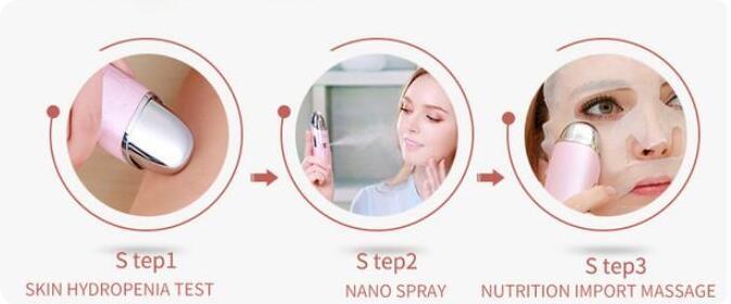 Electric face massager,portable facial steamer