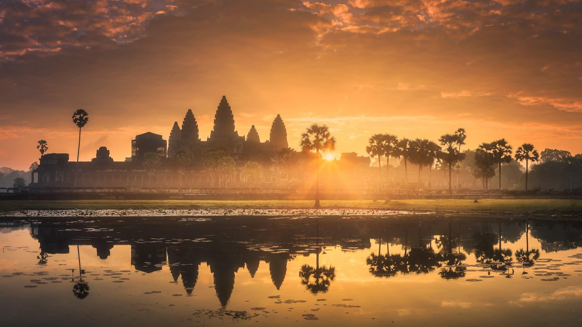 Bucket list vacations to Angkor Wat