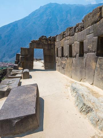 Ruins of Ollantaytambo Peru
