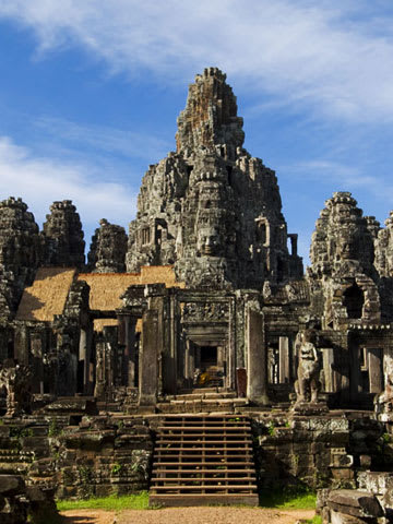 Ruins of Angkor Temple