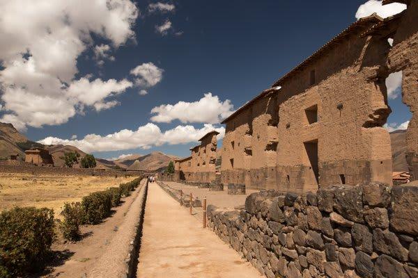 Raqchi Ruins outside Cusco