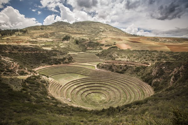 Ruins of Moray in Sacred Valley