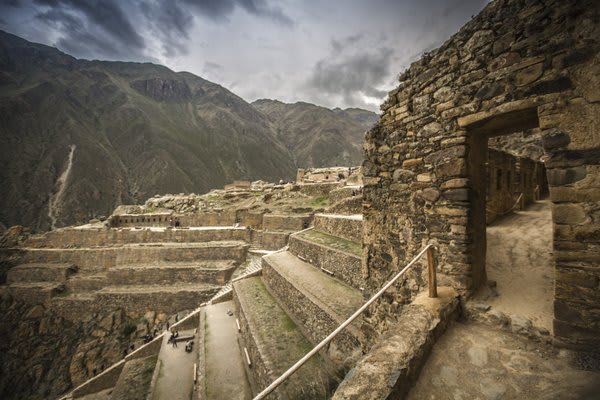 Ollantaytambo Ruins in Sacred Valley