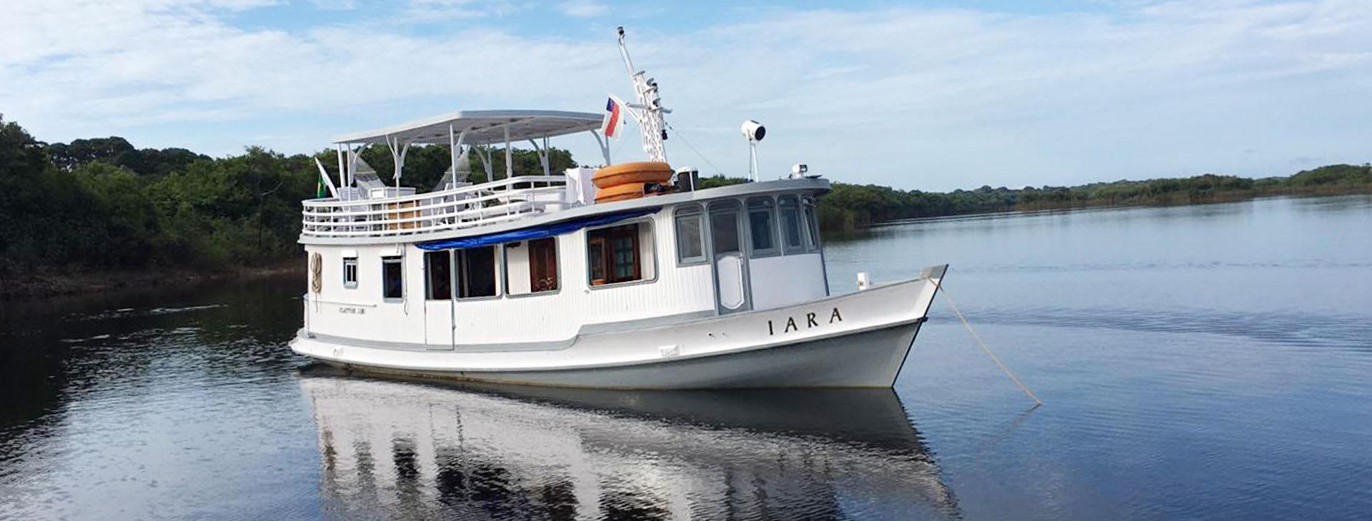 Iara anchored