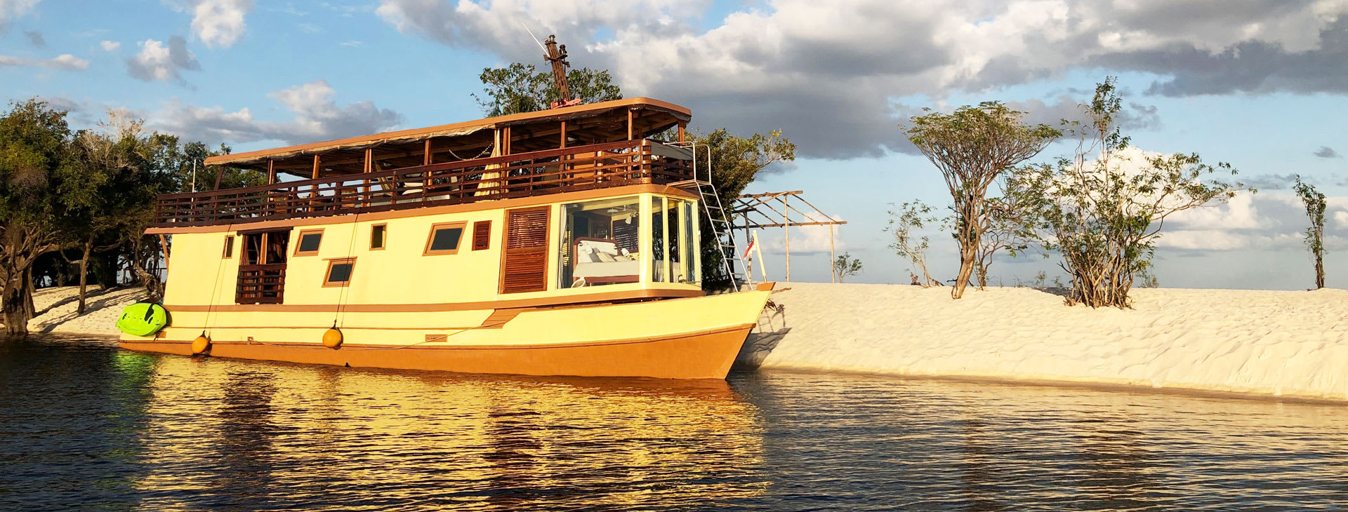 Amazon Odyssey on the river