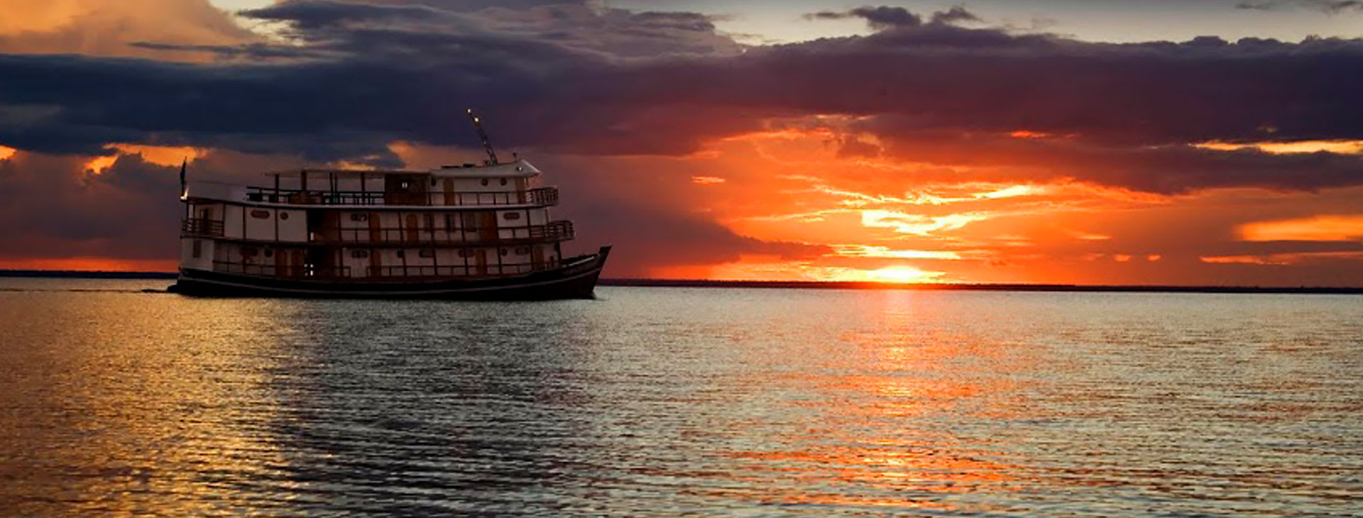 Amazon Dream in the sunset