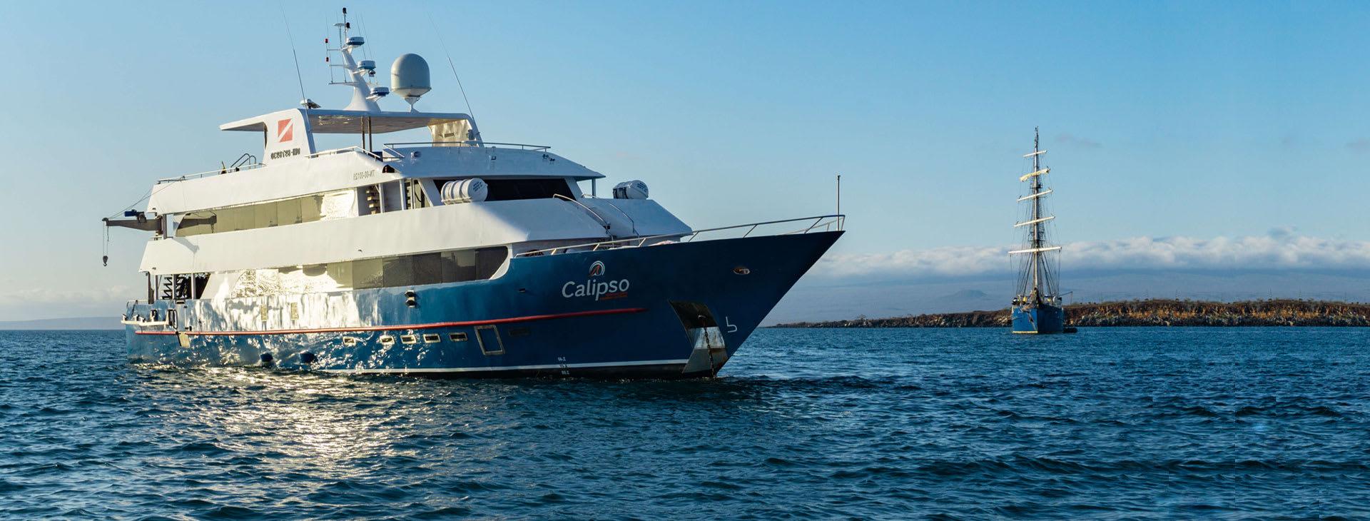 Calipso at sea