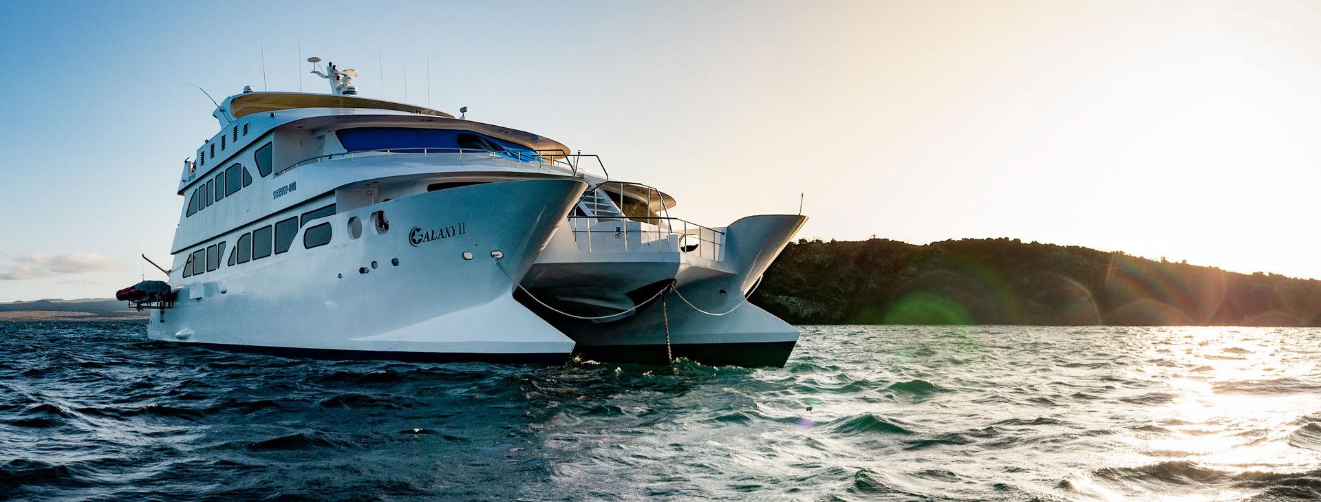Eco Galaxy ship at sea