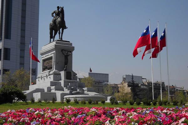 Chile City Tour Statue