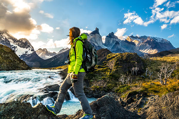 Hiking Paine Grande Ecolodge