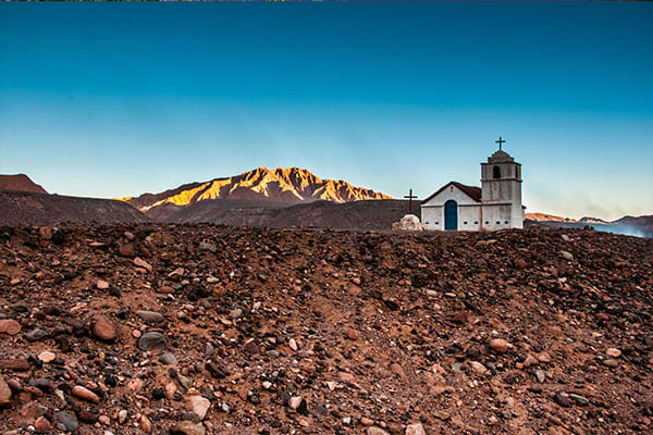 Old Mission desert Atacama Chile