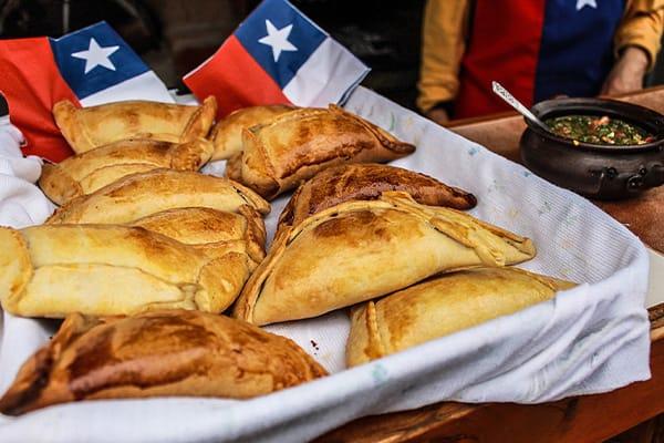Chilean Empanada Basket