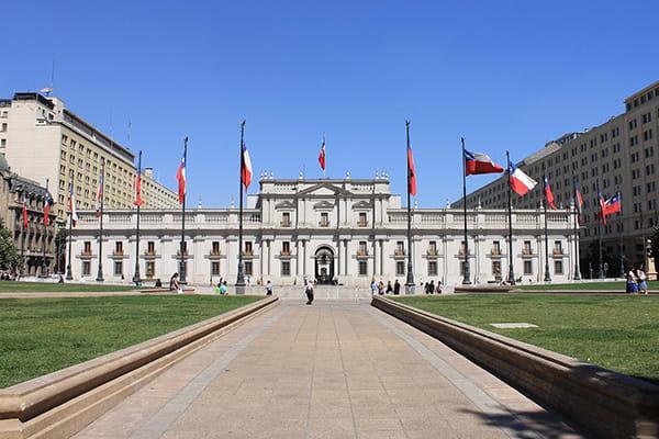 City tour municipal buildings Chile