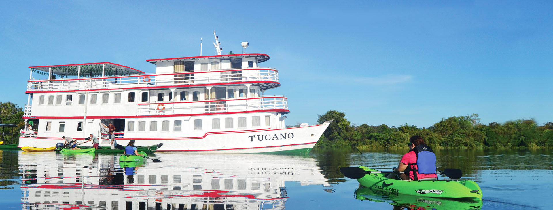 Tucano and kayaks