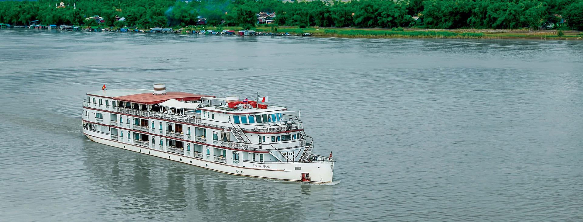 Jahan on the Mekong River