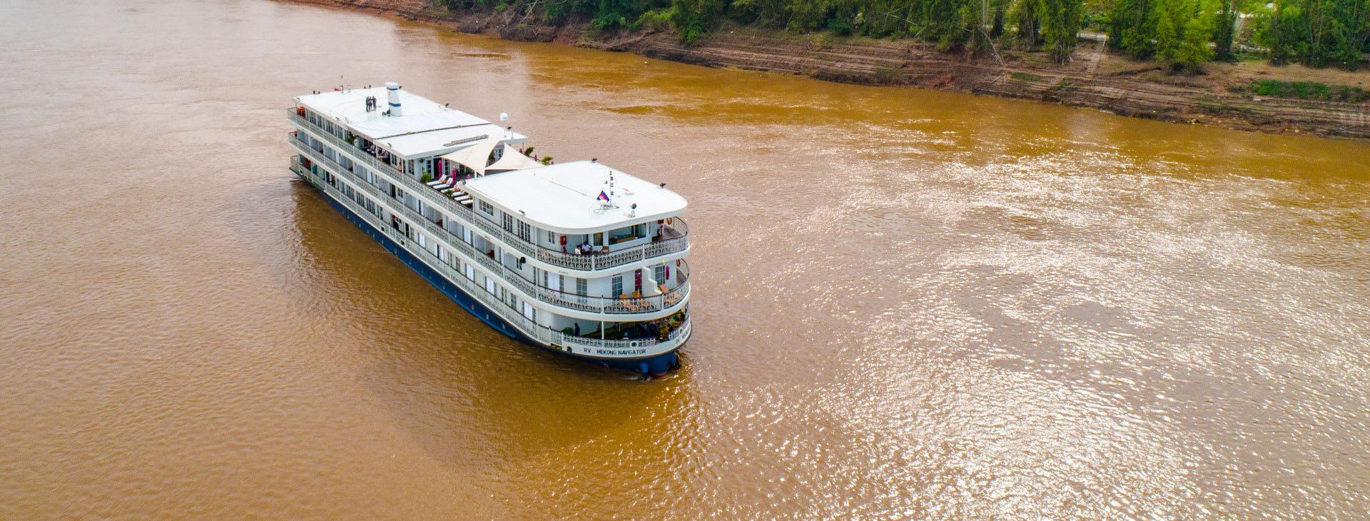 Mekong Navigator from above