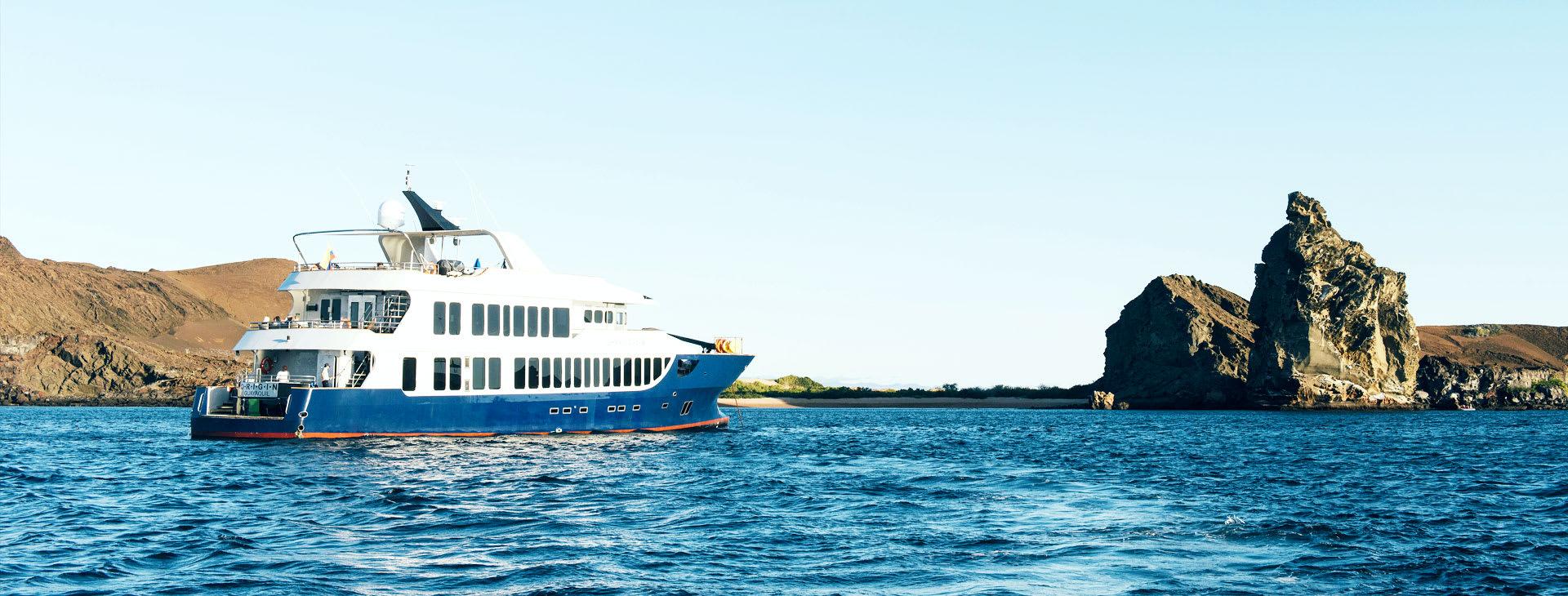 Orogin ship at sea