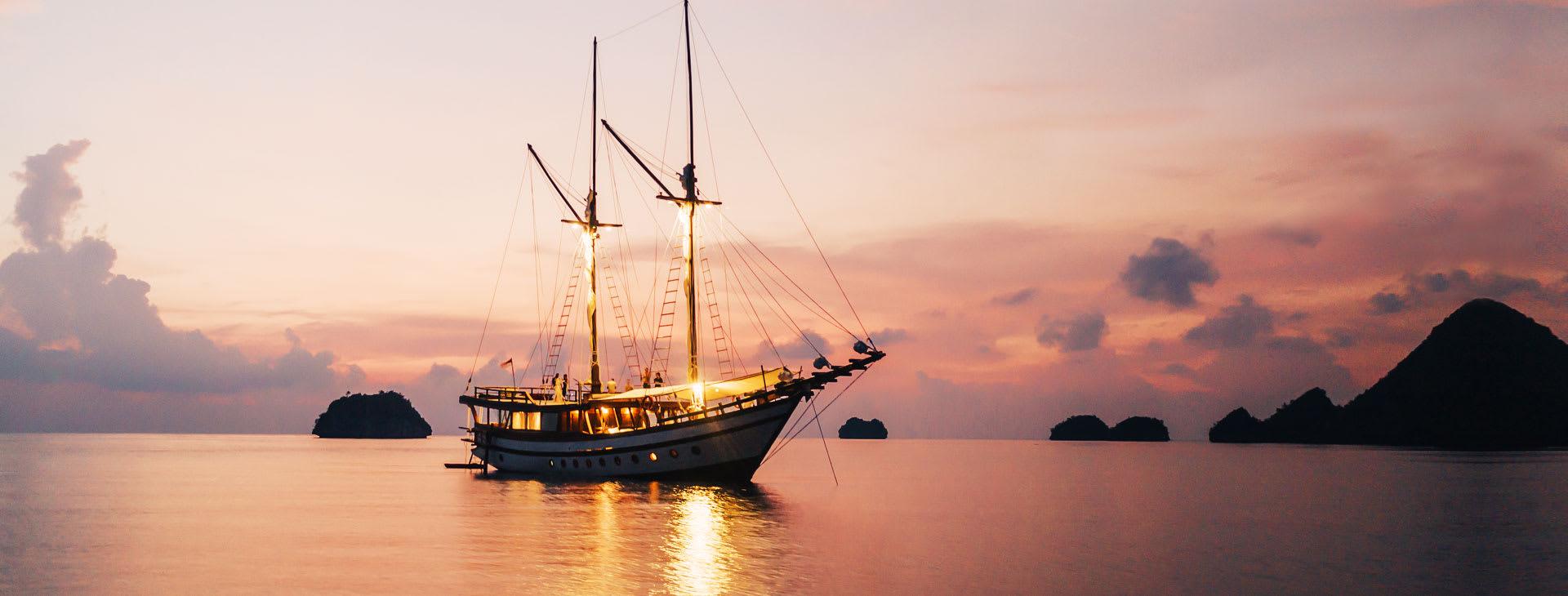 Senja Yacht in Indonesia