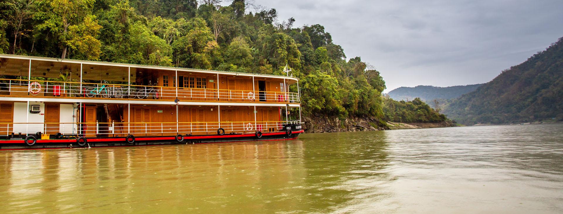 Kha Byoo on the river