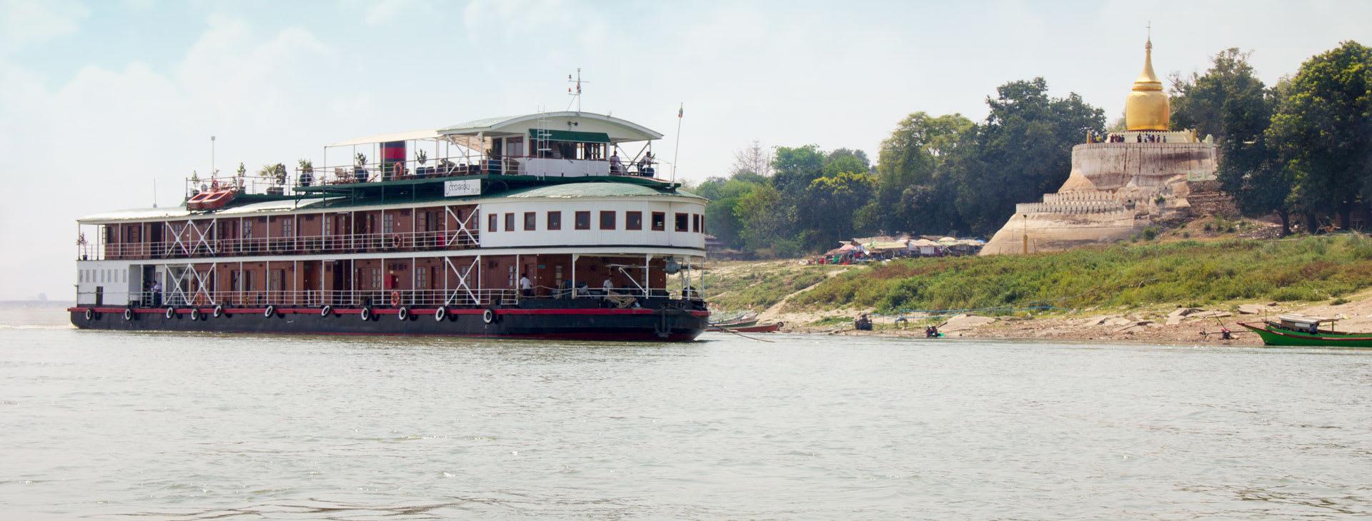 Pandaw II on the river