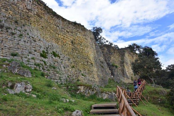 Kuelap Stone Fortress Northern Peru