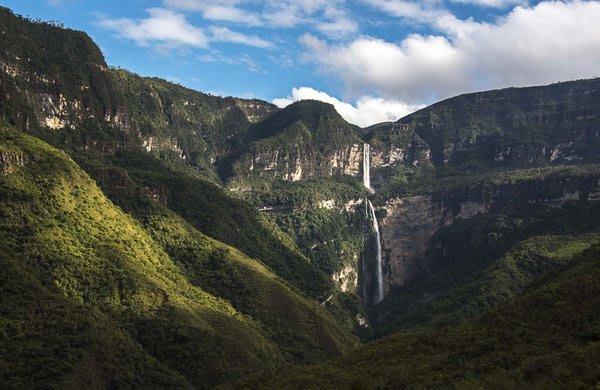Gocta Waterfall Northern Peru