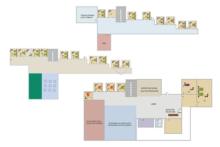 Rooms plan