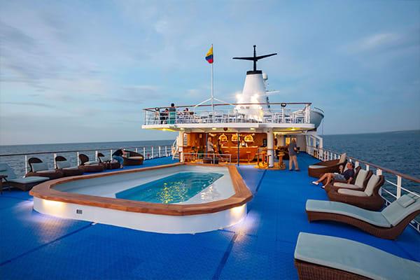 Galapagos Legend Upper Deck Pool