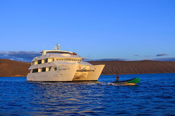 Treasure of the Galapagos boat