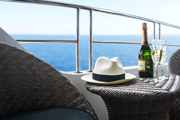 some libations on galapagos boat