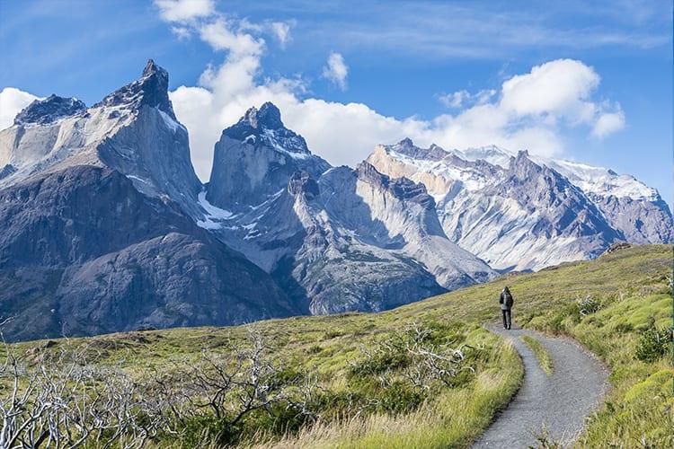 Arriving Torres Del Paine Park