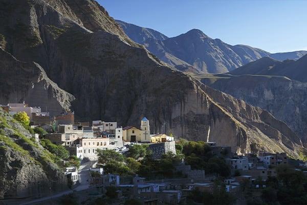 Salta Argentina Town Landscape