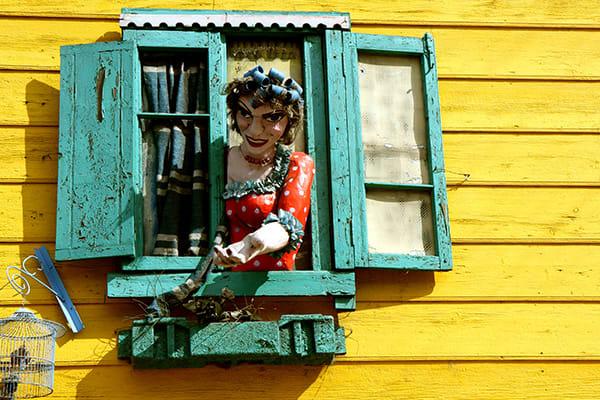 Buenos Aires Artsy Window