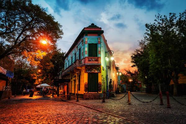 Buenos Aires San Telmo District